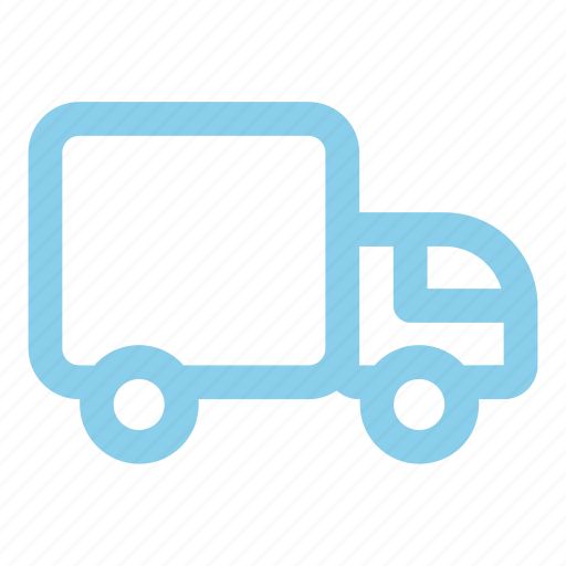 lorry, mobile, transportation icon