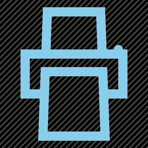 document, ink, printer icon