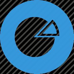 analysis, analytics, chart, diagram, financial, graph, pie icon