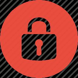 guard, lock, locked, login, password, safety, security icon