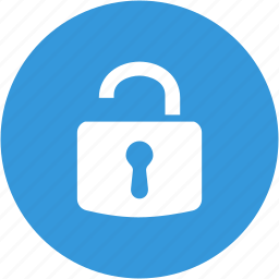 browser, lock, open lock, password, safe, security, unlock icon