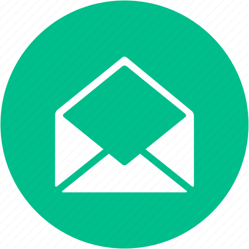 check mail, email, envelope, inbox, letter, mail, open icon