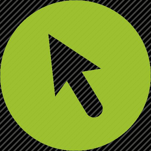arrow, click, cursor, interface, mouse, point, pointer icon