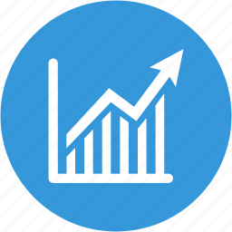 analytics, chart, diagram, financial, graph, growth, sales icon