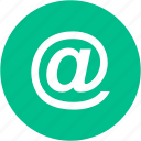 email, envelope, mail, contact, email sign, mail sign, private icon