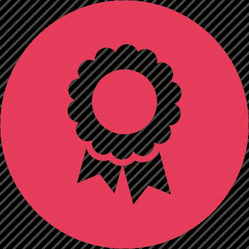 achievement, award, badge, brand, label, reward, trophy icon