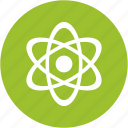 atom, atomic, electricity, energy, molecule, nuclear, radiation icon