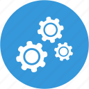 cogs, configuration, gear, gears, options, preferences icon