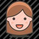 person, user, woman icon