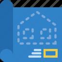 blueprint, construction, repair icon