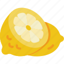 fruit, healthy, lemon icon