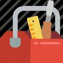 repair, toolbox, tools icon