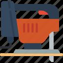 jigsaw, repair, tool icon