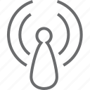 signal, wave, wifi icon