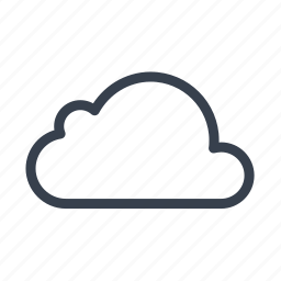 cloud, data, storage, store, weather icon