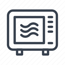 food, grill, kitchen, microwave, microwave oven icon