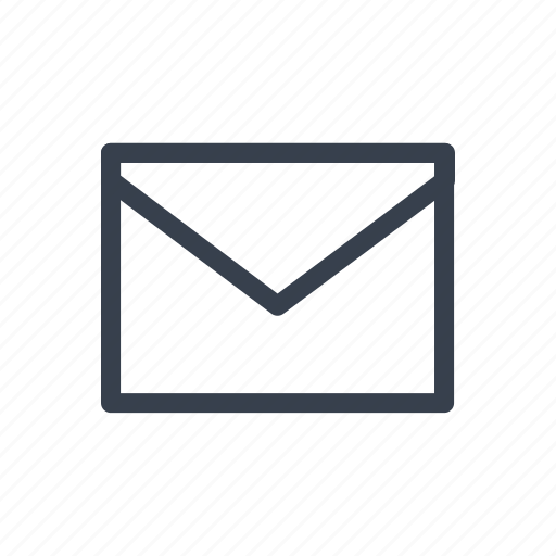 email, envelope, letter, message, notice, notification icon