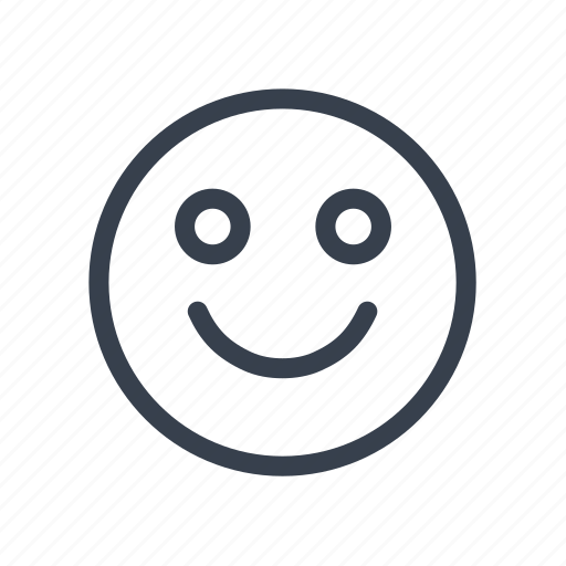 emoticon, emotion, funny, happy, positive, smile, status icon
