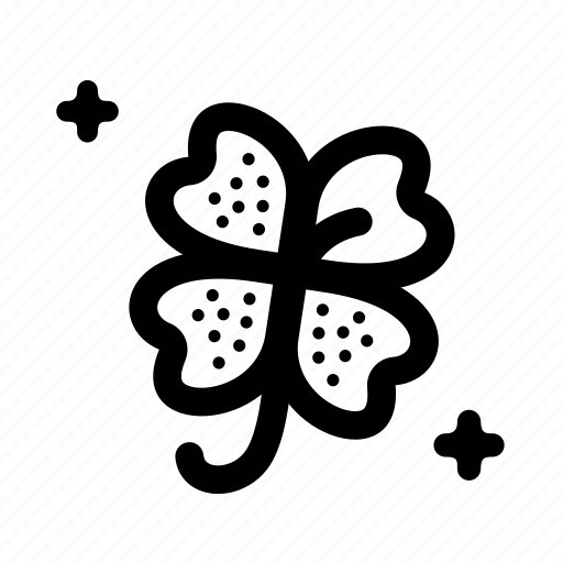 clover, four, leaf, luck, lucky, organic, plant icon