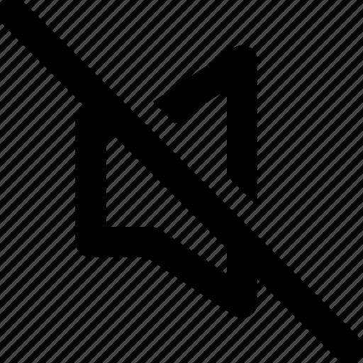 Audio, music, mute, off, sound, volume icon - Download on Iconfinder