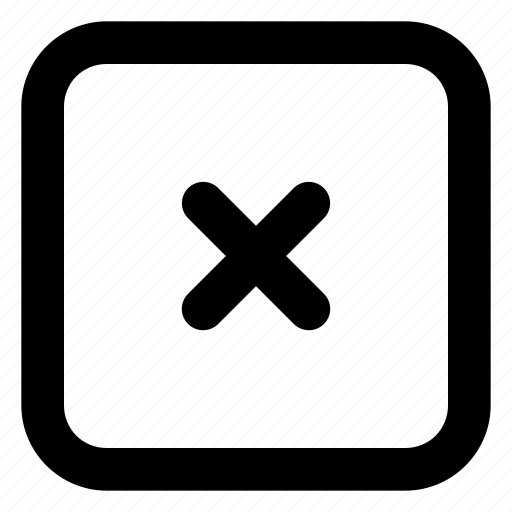 cancel, close, delete, mark, remove, sign icon