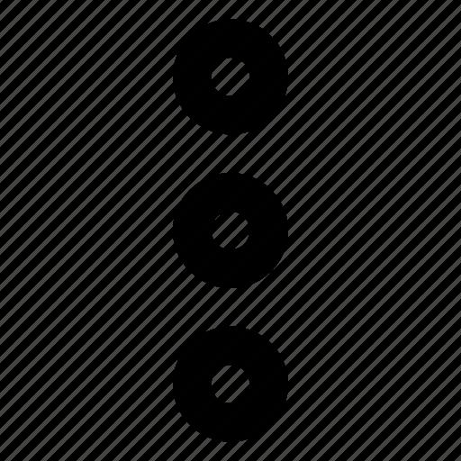 dote, interface, menu, more, option, write icon