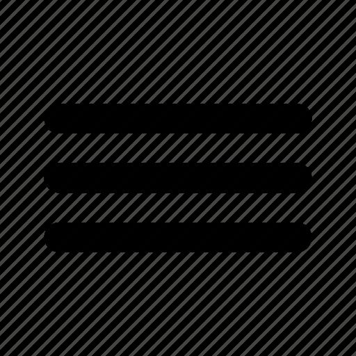 interface, line, list, menu, text icon