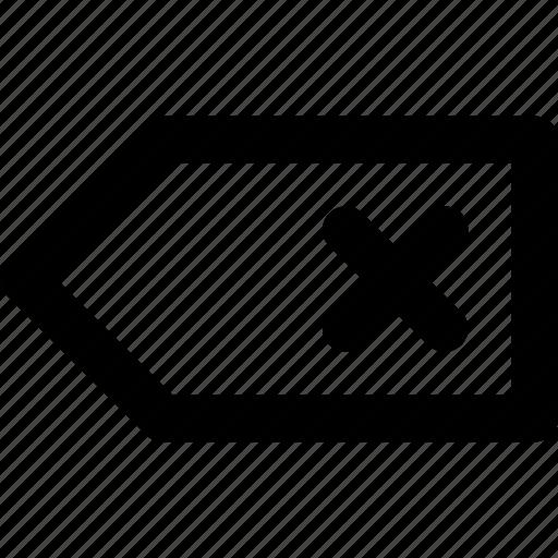 Cancel, close, delete, remove, tag icon - Download on Iconfinder