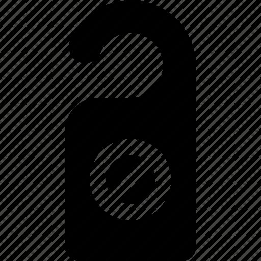 disturb, do-not-disturb, hanger, privacy, private icon