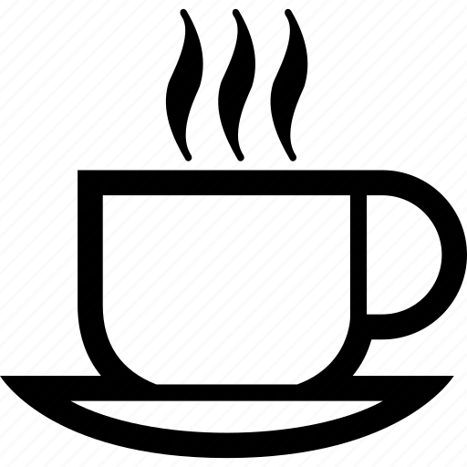 Breakfast, drink, coffee, hot, cup icon