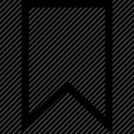 bookmark, fav, favourite, flag icon