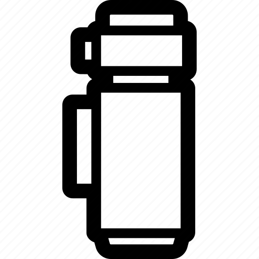 cup, flask, thermo, water icon