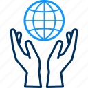 country, earth, global, globe, map, save, world icon