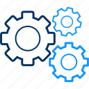 configuration, gear, preferences, setting, settings, tool, tools icon