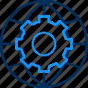 configuration, gear, globe, options, preferences, setting, settings icon