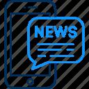 alert, mobile, news, communication, media, smartphone