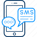 alert, app, feedback, mobile, phone, smartphone, sms icon