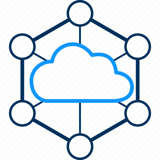 cloud, computing, connection, internet, network icon