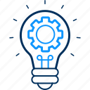 bulb, configuration, idea, setting, settings icon