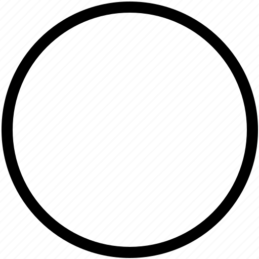 circle, circular, grid, outline, round, shape icon