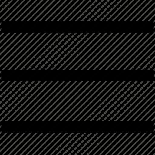 lines, menu, navigation icon