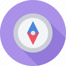 compass, forest, navigation, travel icon