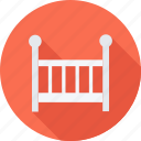 baby, child, children, crib icon