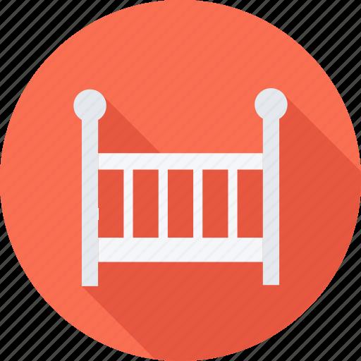 baby, child, children, crib icon