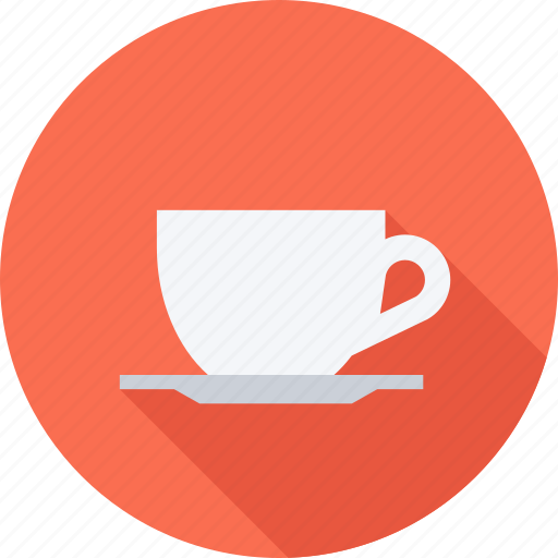 cafe, coffee, cup, saucer icon
