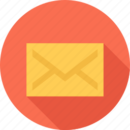 email, file, mail, paper icon