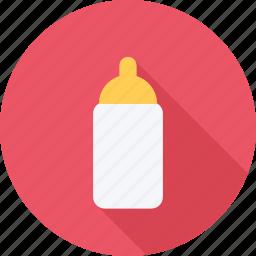 baby, bottle, feeding bottle, milk icon