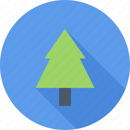 christmas, fir tree, forest, tree icon