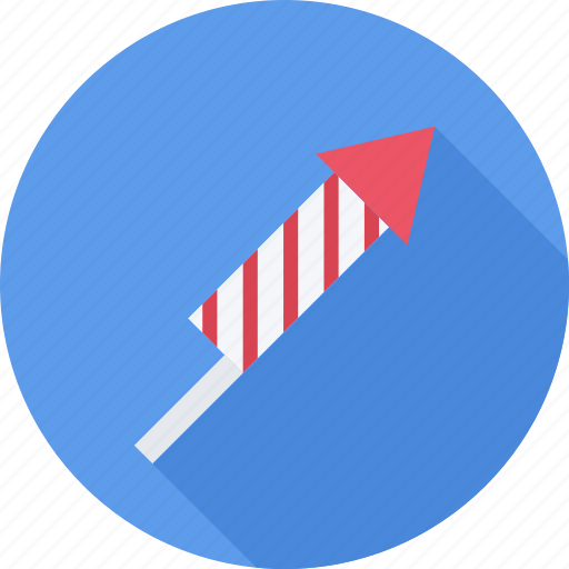 Christmas, firework, holiday, rocket icon - Download on Iconfinder