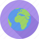 earth, globe, planet, space icon